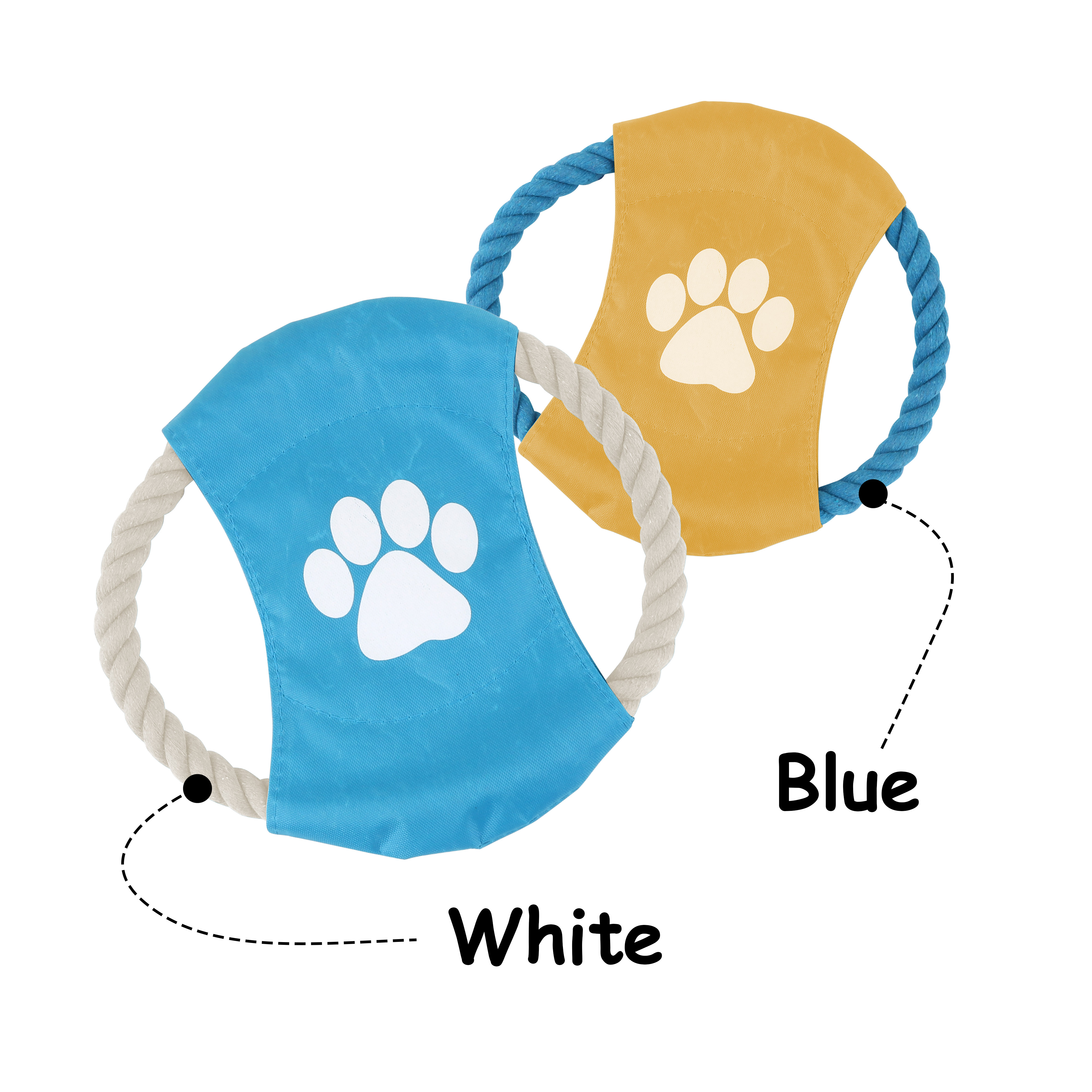 Rope Frisbee Dog Toy - PCH274 Image