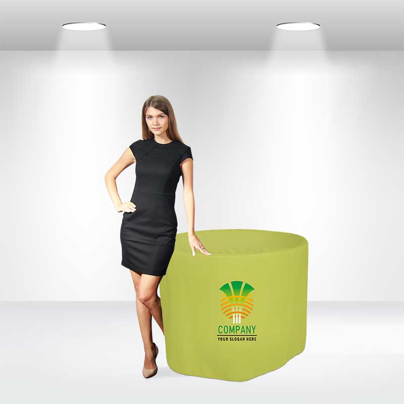 Round Fitted Table Covers (Large) - POS78 Image